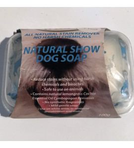 Natural Dog Show Soap